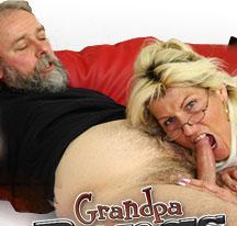 Grandpa Bangs Grandma!