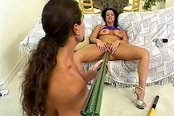 Brunette Will Fuck Anything You Can Find
