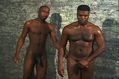 Horny Black Gay Dudes Fuck in Basement