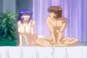 Milf Lesbian Fuck Fest in Hentai