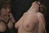 Dominatrix Punishes Her Sex Slave
