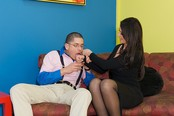 Eve Double Penetrated At Job Interview
