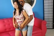 Darling Asian Teen Meets Black Cock