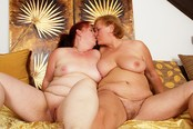 Grey-haired Granny Lesbians Get Off with Sex Toys
