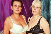 Lesbian Grannies Love Their Dildo Mania!