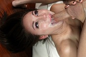 Messy Hot Gagging Blowjob by Beautiful Gabriella Patrova