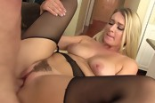 Cute Blonde Gets Her Tight Pussy Filled With Cock