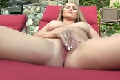 Hot Blonde Chick Likes To Suck Dick Outside