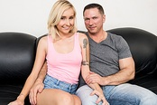 Cock-Hungry Teen Peyton Coast's Casting Couch Porn