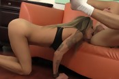 Horny Babe Getting Her Hot Ass Doggy Styled