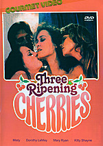 Three Ripening Cherries