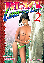 Black Cum-on Lines 2