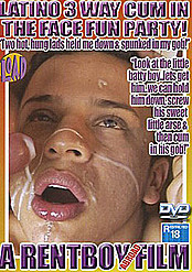 Latino 3 Way Cum in the Face Fun Party!