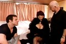 Mrs. T. Stone Pleases 2 Dudes In Hotel