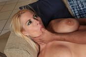 Dallas Diamondz Blond Milf Stretched Open Fully