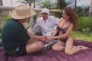 Ashley long and jasmin share lucky man vincent vega Ashley Long, Jasmin.
