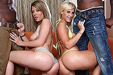 Hot Brittney Banxxx And Destiny Jaymes Gets Black Dicking adult gallery
