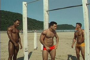 Igor dos Santos, Daniel Brandao, Edgar Santos