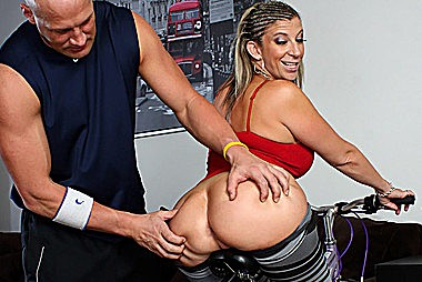 Jaw Dropping Asses adult gallery Thick Blonde Babe Gets This girls Ass Licked Riding a Bike Preview