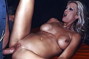 Blond fucks during job interview Brooke Hunter.