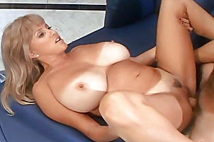 Milf with huge boobs has her pussy have sexual intercourse Penny Porsche.