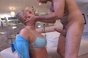 Bored Housewife Loves To Be Choke Fucked