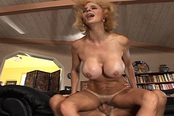 Blonde MILF Needs A Cock In Her Cunt