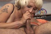 Blonde MILF Fucks Her Exchange Student