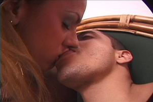 Sexual orgy with a tgirl girl and a thick cruel stud Isabella Alejandro.