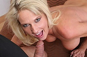 Curvy blond milf gets have sex by ron jeremy Bridgett Lee.