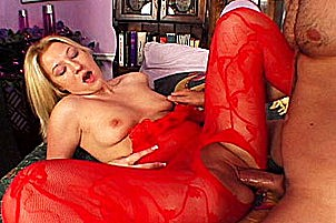 Hot blond prostitute is a natural porn star Britney.