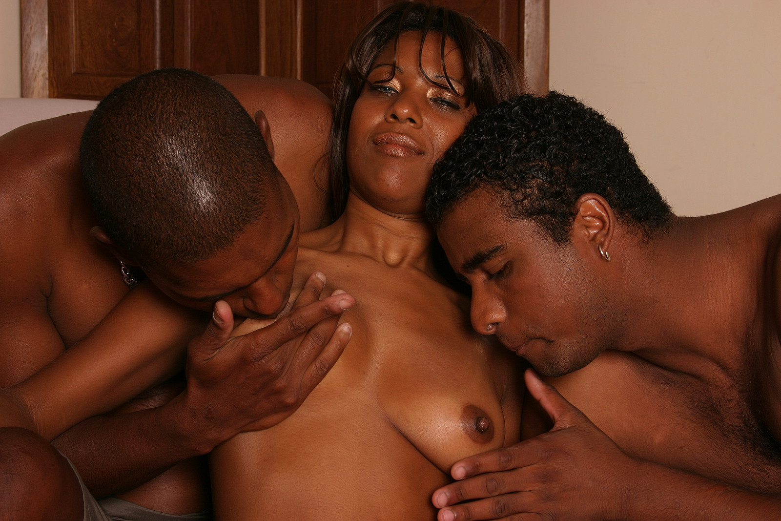black and bisexual |black bi sexuals have a threesome| free preview!