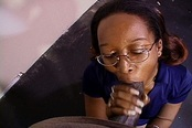 A Girl Is Hard At Work Giving Blowjobs