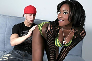 sample 1 Black Girl Tied Up And Called A Name   Osa Lovely, Chris Strokes Free videos from Real Black Anal.com   Black babe takes it inside her tight ass
