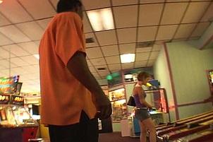 Lascivious allie sin picked up at video arcade Allie Sin.
