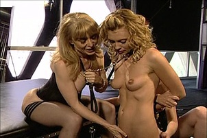 Dom nina hartley gives private lessons to willing students Nina Hartley, Justine Joli, Kelle Marie.