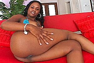 Ebony anal ho cockrocked by black stud.