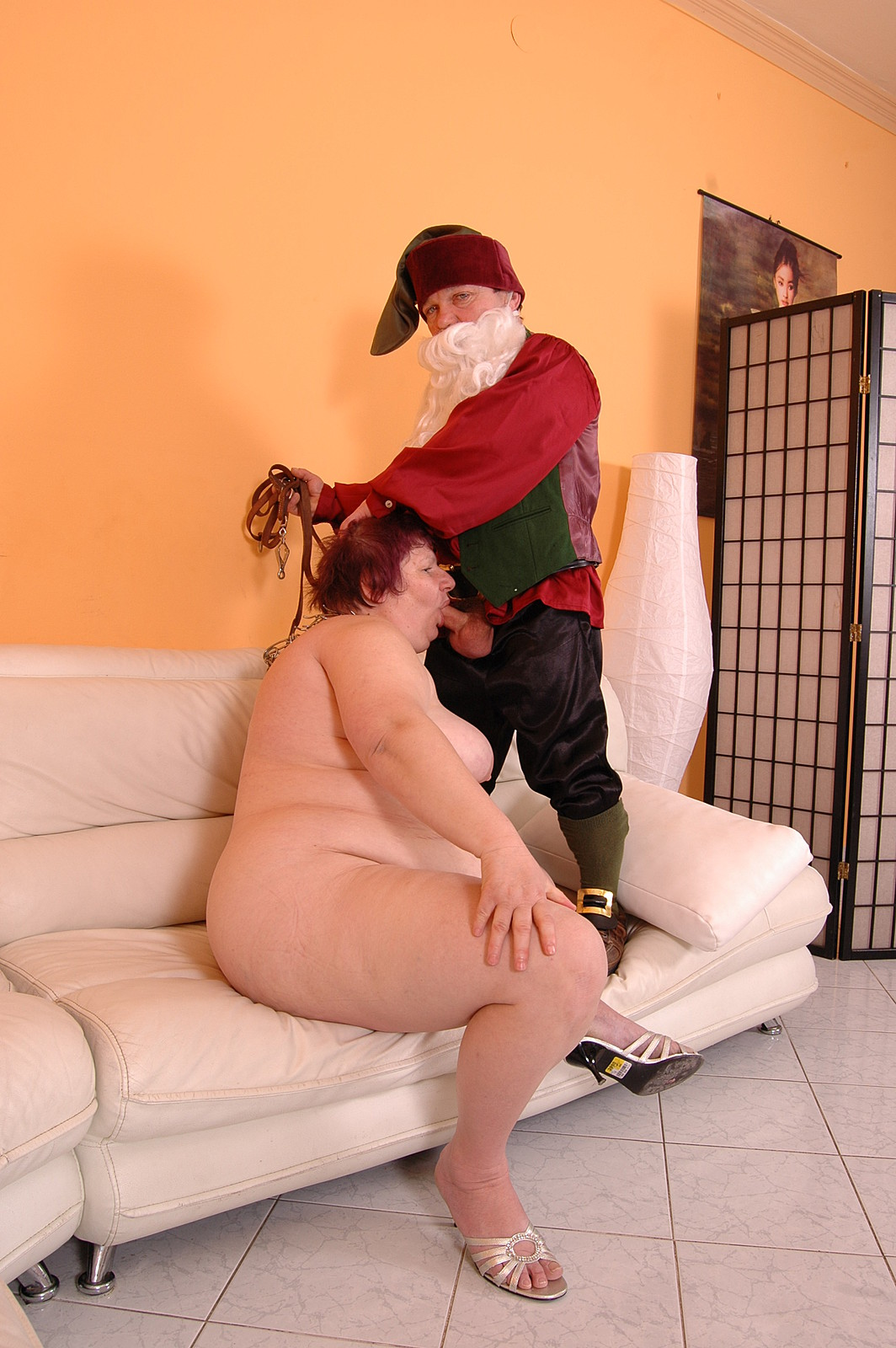 Dwarf rides dildo fucking photos