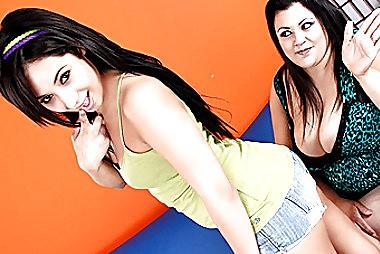 Latin Teenie Rosalie Craves This girls Throat Yogurt adult gallery