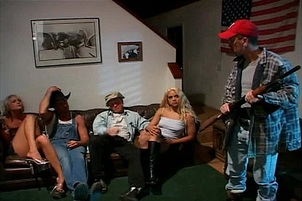 Redneck babes have shaved pussies licked Ashley Moore, Velvet Rose.