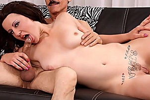 Curvaceous Brook Foxxx Paid For Blow Job- with  Dirty Harry, Brook Foxxx