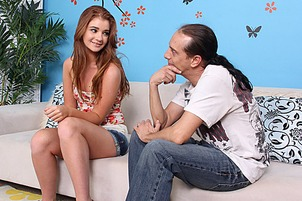 Fresh 18-year-old Ava Sparxxx's 1st Time with Real Cock- with  Scott Lyons, Ava Sparxxx