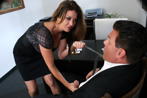 Horny Big Titty MILF Hottie Raquel Seduces New Hire- with  Dick Delaware, Raquel Devine