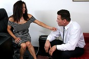 Slutty MILF Boss Sabrina Sanchez Seduces New Hire