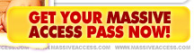 Get your MassiveAccess pass now!