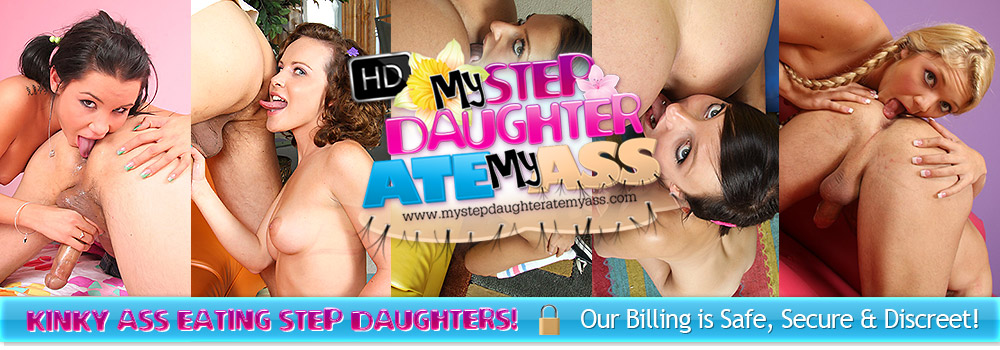 MY STEP DAUGHTER ATE MY ASS - Rimming Porn Videos