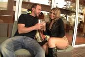 Leopardskin Hooker Nina Rae Frigs Her Horny Clit During Sex