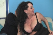 BBW Betty Paige Gets Her Fat Tits Cum-Glazed