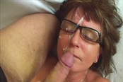 Nerdy Old Lady Jana Takes Advantage Of A Younger Man