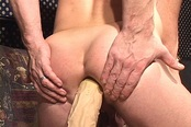 Submissive Bottom's Ass Gets Stretched